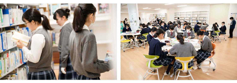 「探究型読書」を実践する生徒たち